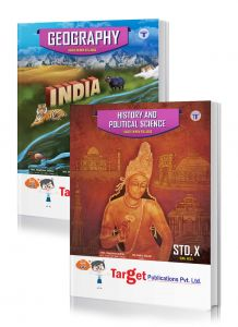 Std 10 Perfect Notes History and Geography Books. English Medium. SSC Maharashtra State Board