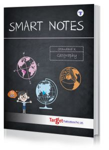 Std 10 Geography Smart Notes Book. English Medium