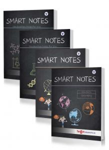 Std 10 Smart Notes Books (History, Geography, Science 1 and 2). English Medium. SSC Maharashtra State Board