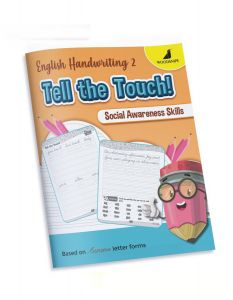 English Cursive Handwriting Practice | Book 2 - Tell the Touch