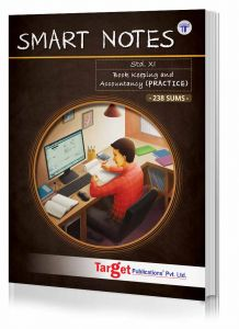 Std 11 Book Keeping and Accountancy Smart Notes Practice Book