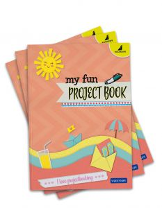 Buy Project Exercise Books Online | A4 Size - Ruled and Unruled Pages | Pack of 3