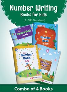 Blossom Number Writing Books for Kids 1 to 100