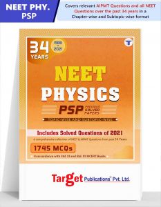 34 Years  Physics  NEET Question Papers with Chapterwise Solutions