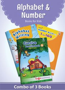 English Alphabet and Number Writing Books for Kids
