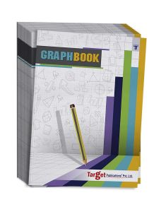 Graph Books | A4 Size 56 Pages | Soft Cover | Numbered Pages and Ruled Margins | Graph Paper with 1 cm Squares | Maths Graph Sheets for School, College and Office Use | Pack of 12