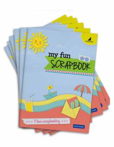 Buy Scrapbooks Online | A4 Size with 32 Scrapbook Pages | Pack of 6