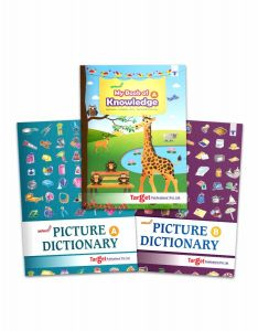 Nurture Picture Dictionary books combo of 3
