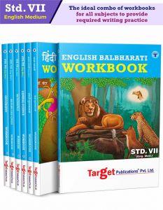 Std 7 Perfect Entire Set Workbooks  English Medium