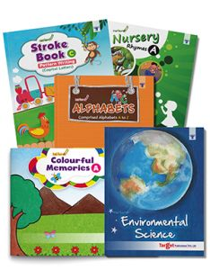 Nurture Esrly Learning Books combo of 5