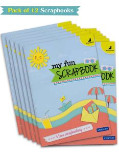 Buy Scrapbooks Online | A4 Size with 32 Scrapbook Pages | Pack of 12