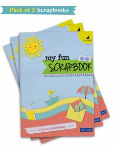 Buy Scrapbooks Online | A4 Size with 32 Scrapbook Pages | Pack of 3