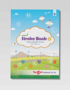 Nurture Pattern Writing and Stroke Book for Kids | Part B | 2 to 5 Year Old | Practice Standing and Sleeping Lines, Curves and ABCD Alphabet Tracing for Preschool and Nursery Children | Includes Colourful Pictures and Activities