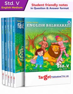 5th std Set of 6 Book English Medium in Question and Answer Format