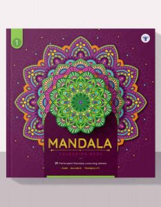 mandala colouring book for adult
