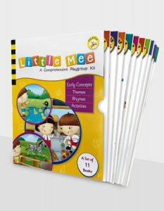 Little Mee Playgroup Kit | Toddler Books for 2 to 3 Years | Theme Based Activity Books for Early Learning Concepts | Best Gift Boxset of 11 Baby Books