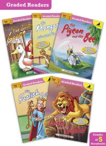 Story Books in English for Kids | Moral Stories for Age 5 - 6 Years | Graded Readers Level 1