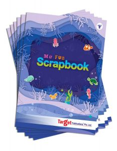 Scrapbook for Kids | A4 Size Approx | 32 Multicolour Pages | Pack of 6