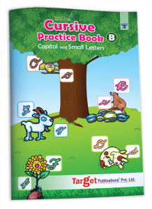Nurture English Cursive Alphabet Practice Book
