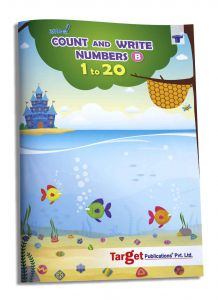 Nurture Count and Write Numbers 1 to 20 Book for Nursery Kids