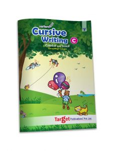 Nurture English Cursive Alphabet Practice Book (C) for Kids   5 to 8 Year Old   Practice Writing Capital and Small Letters for Children   Simplified Curves