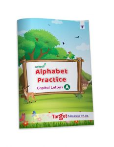 Nurture English Alphabet Tracing and Writing Practice Book for Kids | Part A - Capital Letters | 3 to 5 Year Old | ABCD For Nursery and Preschool Children | 36 Practise Boxes for each Letter