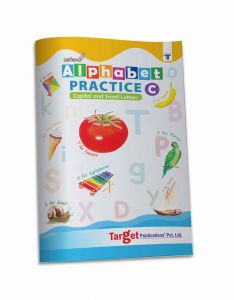 Nurture English Alphabet Tracing and Writing Practice Book for Kids | Part C | Capital and Small Letters