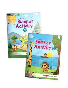 Blossom Bumper Activity Books for Kids in English | Set of 2 Books with 110 Fun Activities