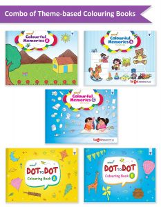 Nurture Colouring and Join the Dots and Color Books for Kids