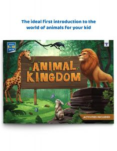 Blossom Animal Kingdom Book for Kids in English