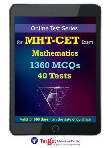 Online test Series MHCET Mathematics