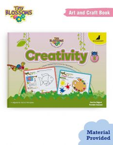 Art and Craft - Activity Books for Kids | Tiny Blossoms - Creativity Book B