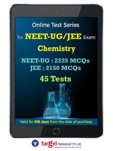 NEET- UF/JEE Chemistry Online Test Series