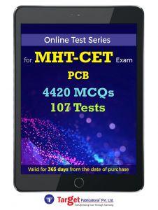 MH- CET PCB Online Test Series