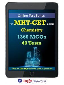 MHT CET Chemistry Online Test Series | Engineering, Pharmacy