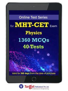 MHT CET Physics Online Test Series |  Engineering, Pharmacy