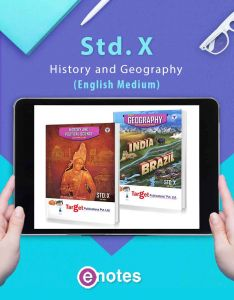 SSC Books History and Geography Ebooks | Eng Med | Maharashtra Board