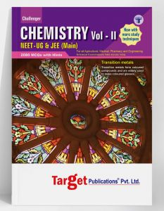 NEET UG / JEE Mains Challenger Chemistry Book Vol 2 for 2020 Medical & Engineering Entrance Exam