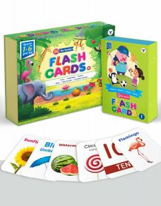 Flash Cards for Kids | 160 Non Tearable and Water Resistant Cards | 1 - 6 Year