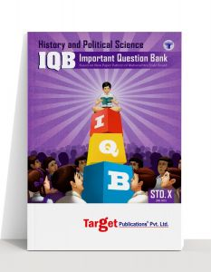 Std 10 History and Political Science Important Question Bank (IQB) Book. English Medium