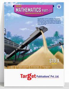 Std 10 Maths 2 Book   Perfect Series   English & Semi English Medium Maharashtra Board