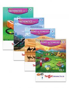 Std 10 Perfect Notes Maths and Science Books. English and Semi English Medium. SSC Maharashtra State Board