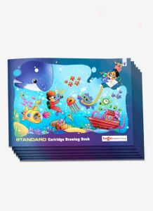 Drawing book Standard size combo of 6