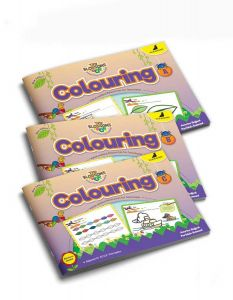 Colouring Books for Kids | Tiny Blossoms | Pack of 3