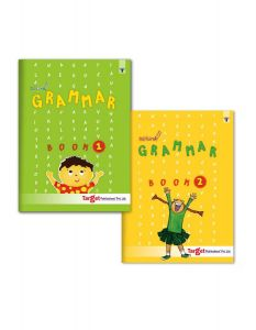 Nurture English Grammar and Composition Books for Kids | 5 to 8 Year Old | Practice Exercises with Colourful Pictures for Primary Children | Book 1 and 2 - Set of 2 Books