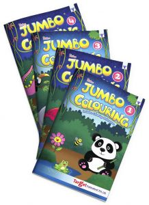 Blossom Jumbo Colouring level 1 to 4 combo of 4