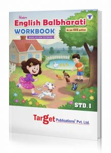 1st std english balbharati workbook