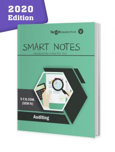 SYBCom Sem 4 Auditing Smart Notes Book