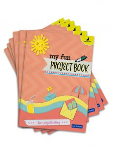 Buy Project Exercise Books Online | A4 Size - Ruled and Unruled Pages | Pack of 6