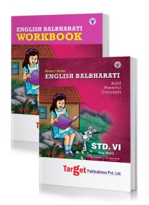 Std 6 Perfect English Balbharati notes and Workbook combo of 2